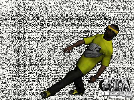 New Ballas Pack для GTA San Andreas пятый скриншот