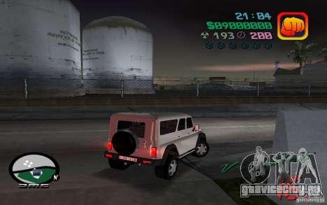 УАЗ 3159 для GTA Vice City вид слева