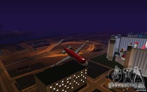 Fokker-100 для GTA San Andreas