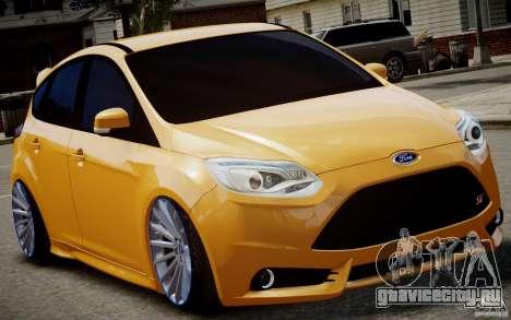 Ford Focus ST Mk.III 2013 для GTA 4 вид слева