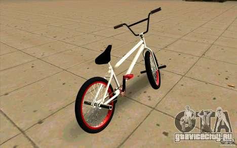 Новый BMX для GTA San Andreas вид сзади слева