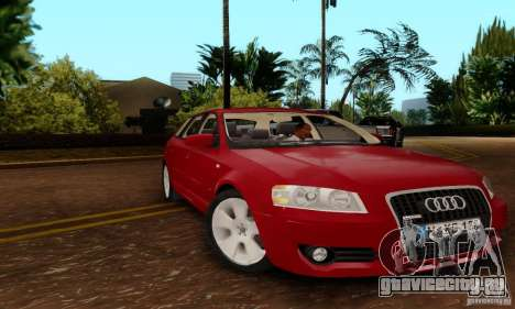 Audi A3 Sportback 3.2 Quattro для GTA San Andreas