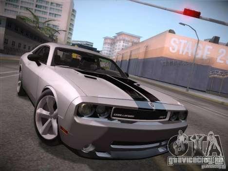 Dodge Challenger SRT8 v1.0 для GTA San Andreas вид слева