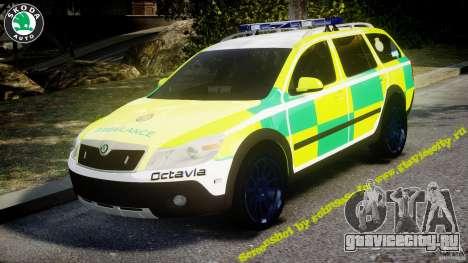 Skoda Octavia Scout Paramedic [ELS] для GTA 4