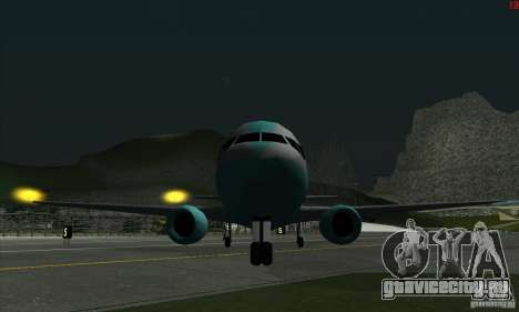 AT-400 во всех аэропортах для GTA San Andreas пятый скриншот