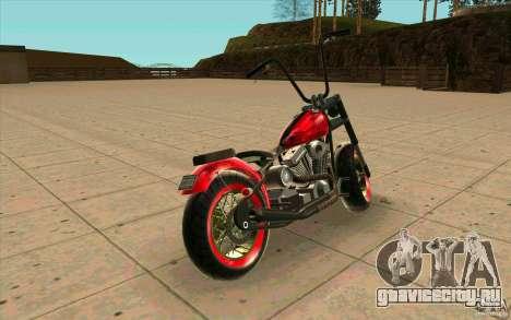 Zombie GTAIV для GTA San Andreas вид сзади слева