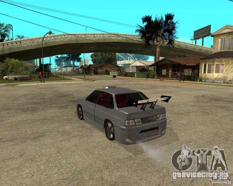 ВАЗ 2115 MCC для GTA San Andreas вид слева