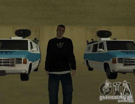Репортер Итальянец для GTA San Andreas третий скриншот