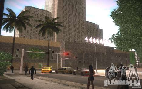 HD Мерия для GTA San Andreas третий скриншот