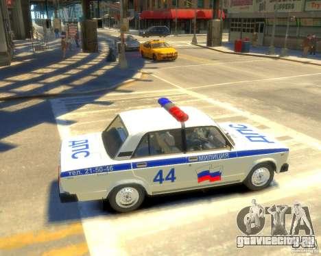 ВАЗ-2105 милиция для GTA 4