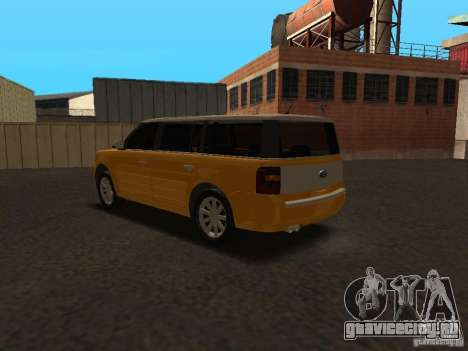 Ford Flex для GTA San Andreas вид справа