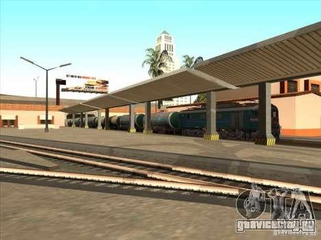 Цистерна №57929572 для GTA San Andreas вид сзади