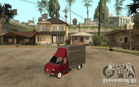 Volkswagen Crafter Case Closed для GTA San Andreas