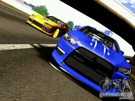 Nissan Silvia S15 Juiced2 HIN для GTA San Andreas вид сверху