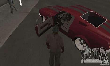 Ford Mustang 1968 для GTA San Andreas вид справа