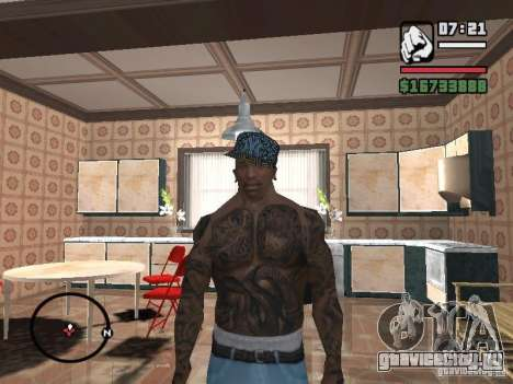 Кепка New York для GTA San Andreas четвёртый скриншот