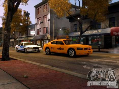Dodge Charger NYC Taxi V.1.8 для GTA 4