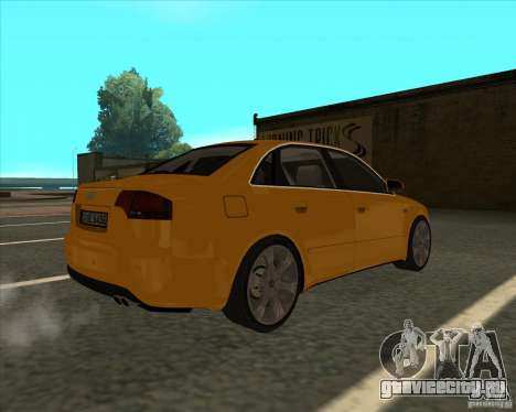 AUDI S4 Sport для GTA San Andreas вид слева
