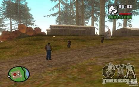 Смертельная битва для GTA San Andreas второй скриншот