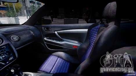 Mitsubishi Eclipse GTS Coupe для GTA 4 вид сзади