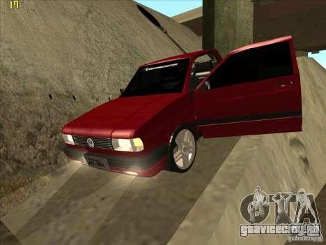 Volkswagen Saveiro Summer для GTA San Andreas вид сверху