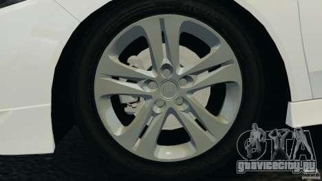 Honda Accord Type S 2008 для GTA 4 вид сбоку