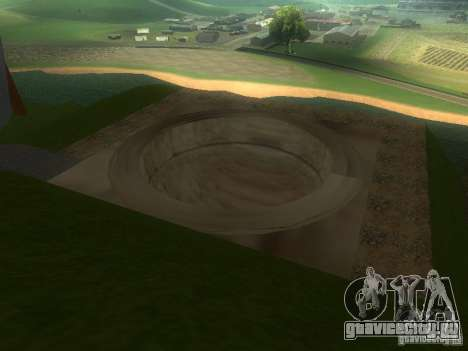 Парк для екстрималов для GTA San Andreas четвёртый скриншот