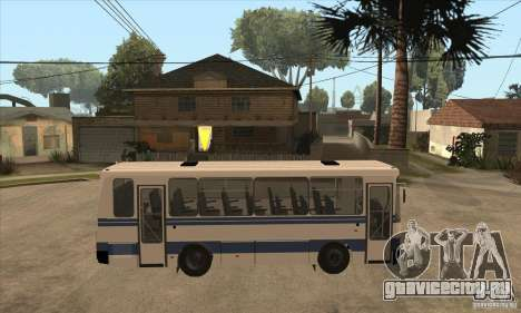 ЛАЗ А141 для GTA San Andreas вид сзади