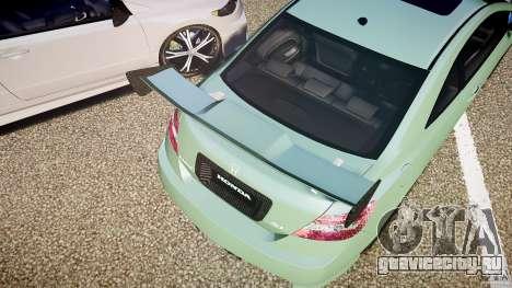 Honda Civic Si Tuning для GTA 4