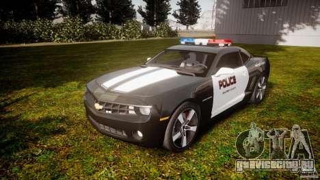 Chevrolet Camaro Police (Beta) для GTA 4