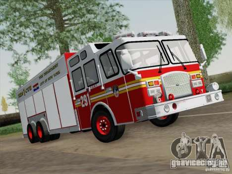 E-One F.D.N.Y Fire Rescue 1 для GTA San Andreas вид слева