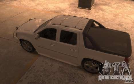Chevrolet Avalanche v1.0 для GTA 4 вид сзади слева