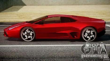 Lamborghini Reventon для GTA 4 вид сзади