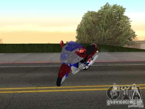 Honda CBR1100XX для GTA San Andreas вид слева