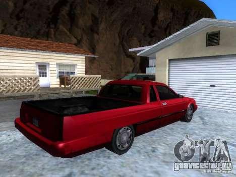 Новый Picador для GTA San Andreas вид слева