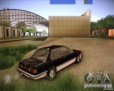 BMW E21 для GTA San Andreas вид слева
