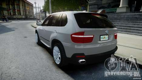 BMW X5 Experience Version 2009 Wheels 223M для GTA 4 вид сзади слева