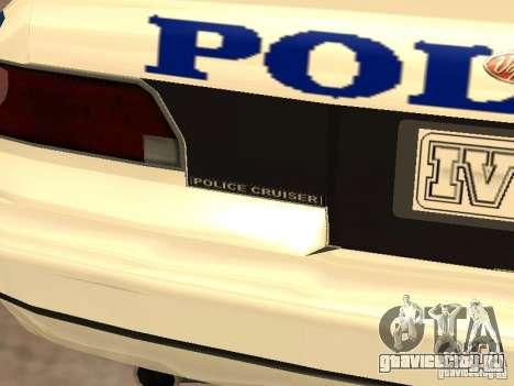 Полиция из гта4 для GTA San Andreas вид сверху