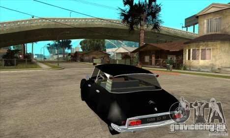 Citroen ID 19 для GTA San Andreas вид сзади слева