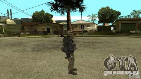 Captain Price для GTA San Andreas пятый скриншот