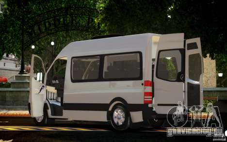 Mercedes-Benz Sprinter Passenger для GTA 4 вид слева