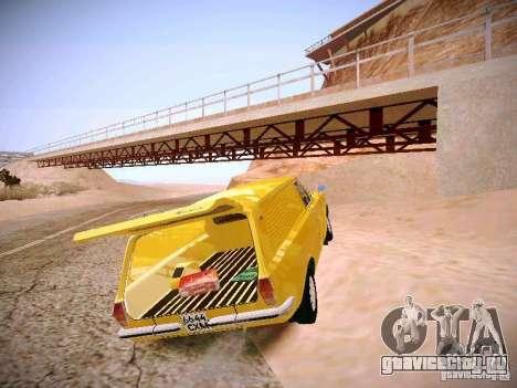 ГАЗ 24-02 Волга Фургон для GTA San Andreas вид сзади