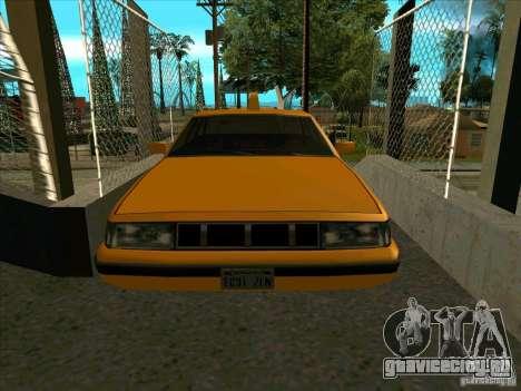 Intruder Taxi для GTA San Andreas вид сзади