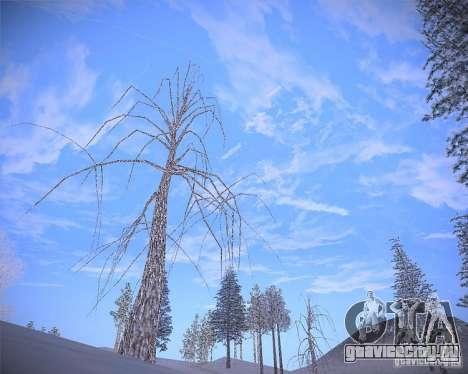 Real Clouds HD для GTA San Andreas пятый скриншот