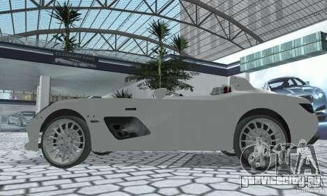 Mercedes-Benz SLR Moss 2008 для GTA San Andreas вид справа