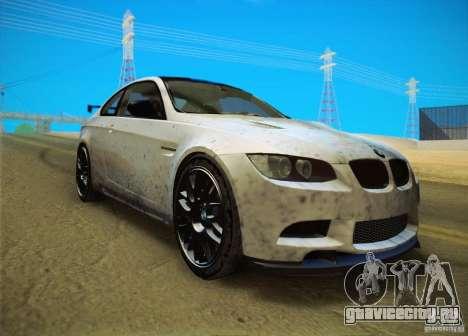 BMW M3 GT-S Final для GTA San Andreas вид сзади слева