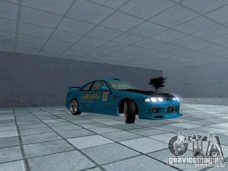 Nissan Skyline R 33 GT-R для GTA San Andreas вид сзади