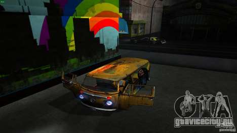 Comb do Bob and Rastaman для GTA San Andreas вид изнутри