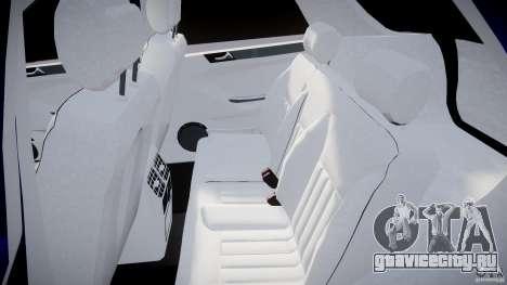 Mercedes-Benz ML63 AMG для GTA 4 вид сзади