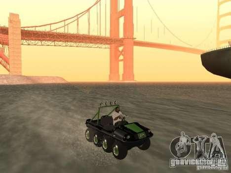 Вездеход Argo Avenger для GTA San Andreas вид справа